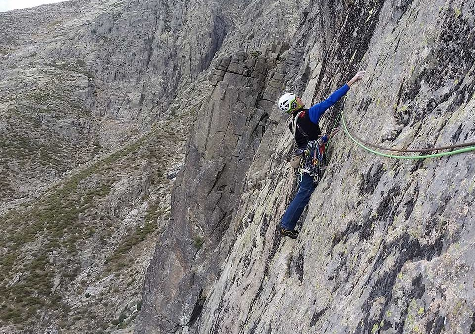 Escalada.Risco del Villarejo-Gredos.Sierra de Gredos